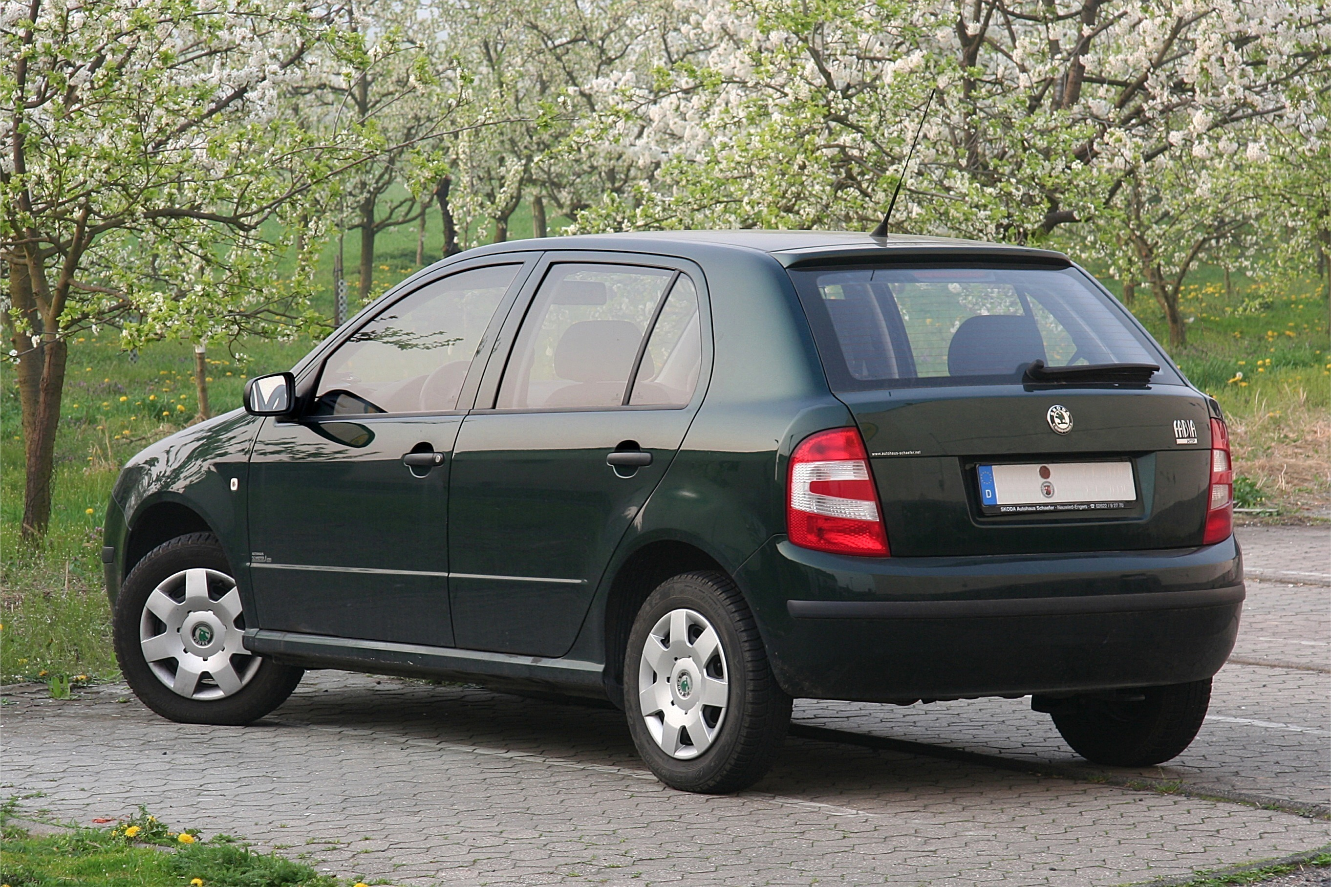 2005 Skoda Fabia 6y Pictures Information And Specs