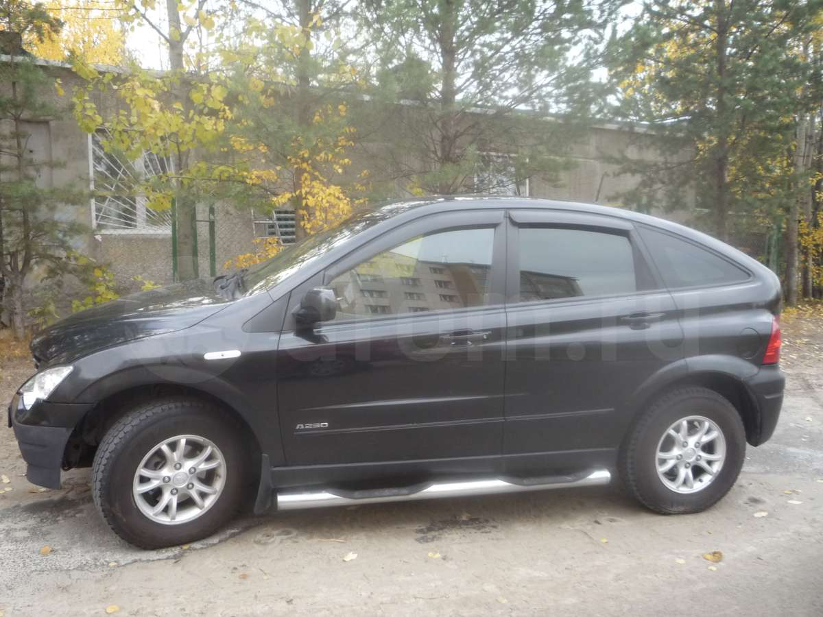 Cars ssangyong actyon 2007