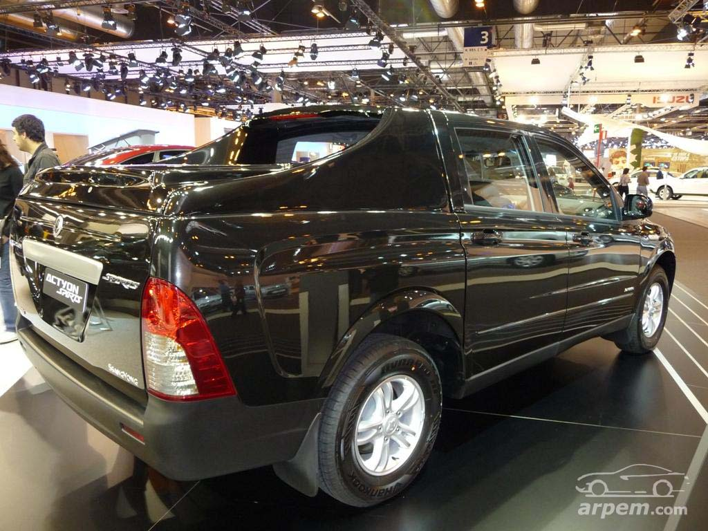 Cars ssangyong actyon sports 2008