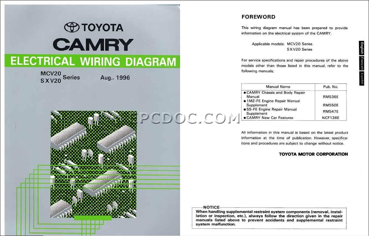 1996 Toyota Camry (sv40/svx20) – pictures, information and specs ...