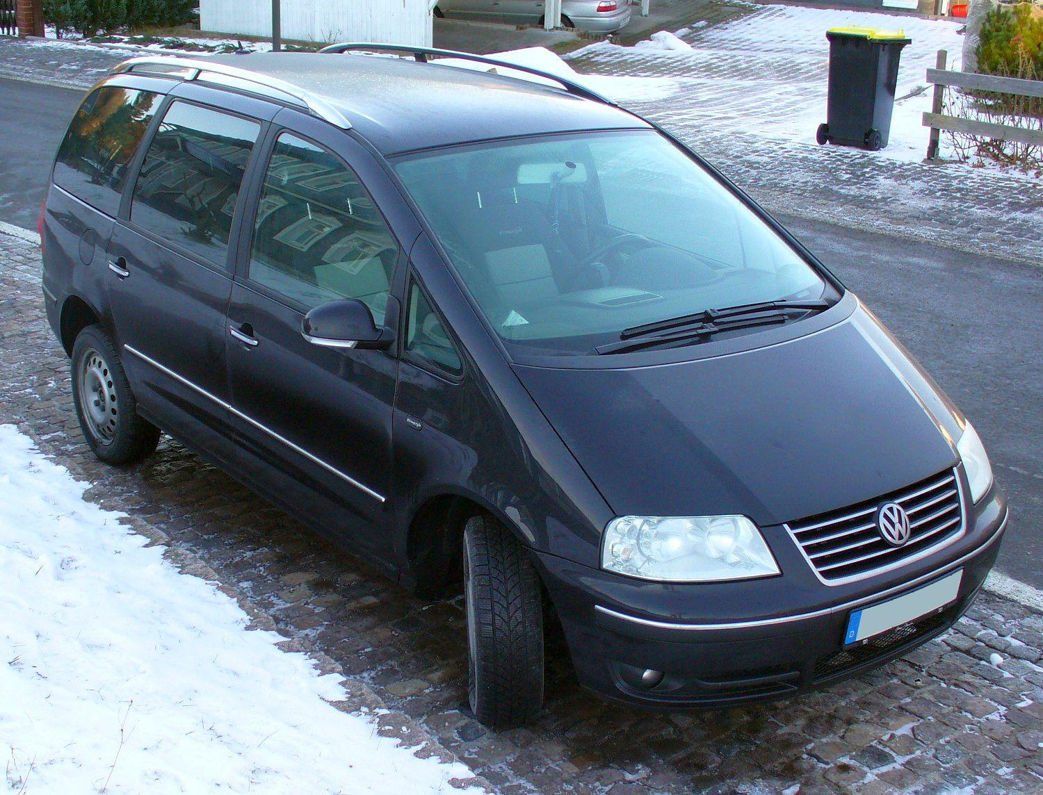 Cars volkswagen sharan (7m) 2007 #8
