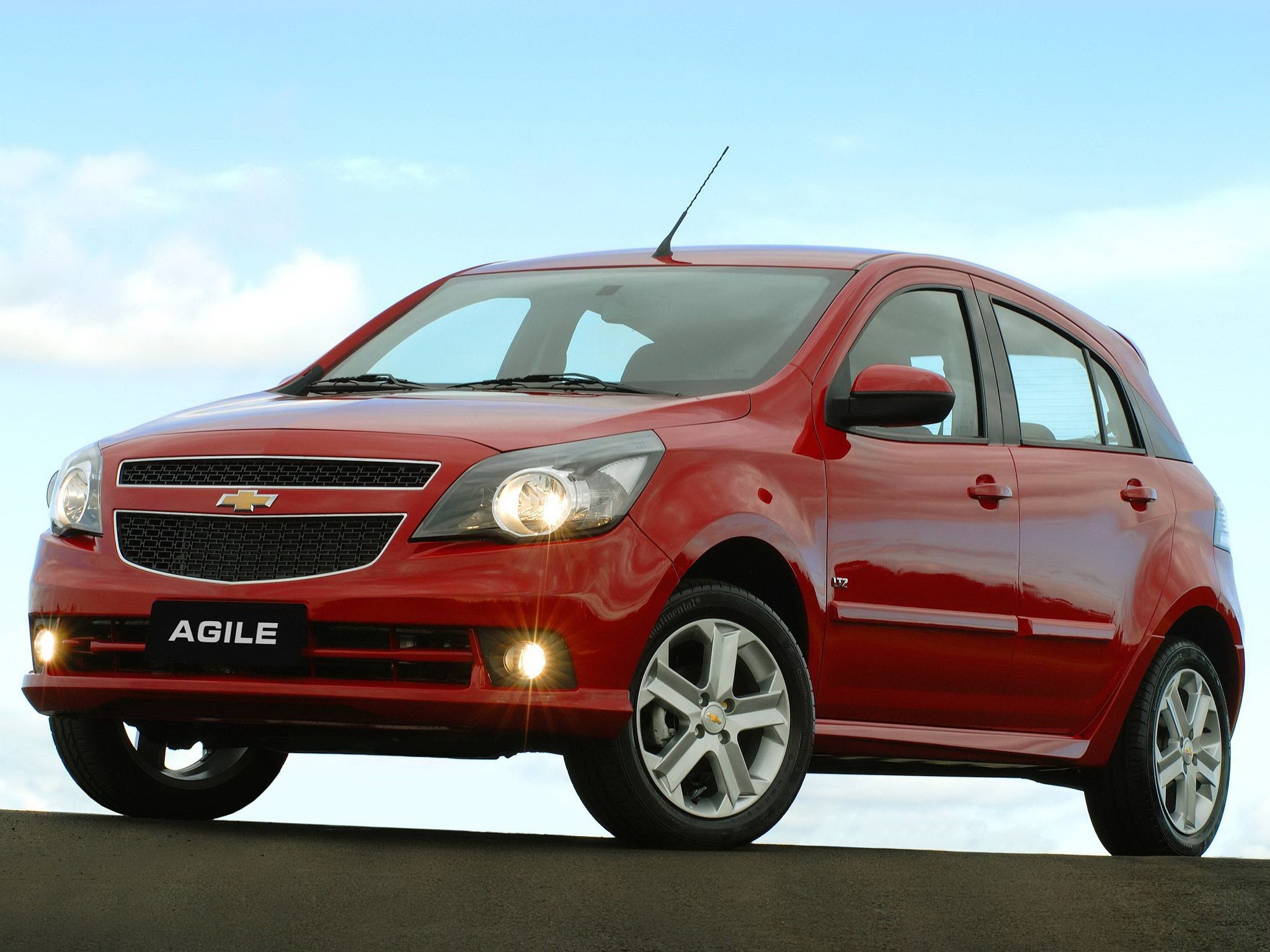 chevrolet agile  u2013 pictures  information and specs