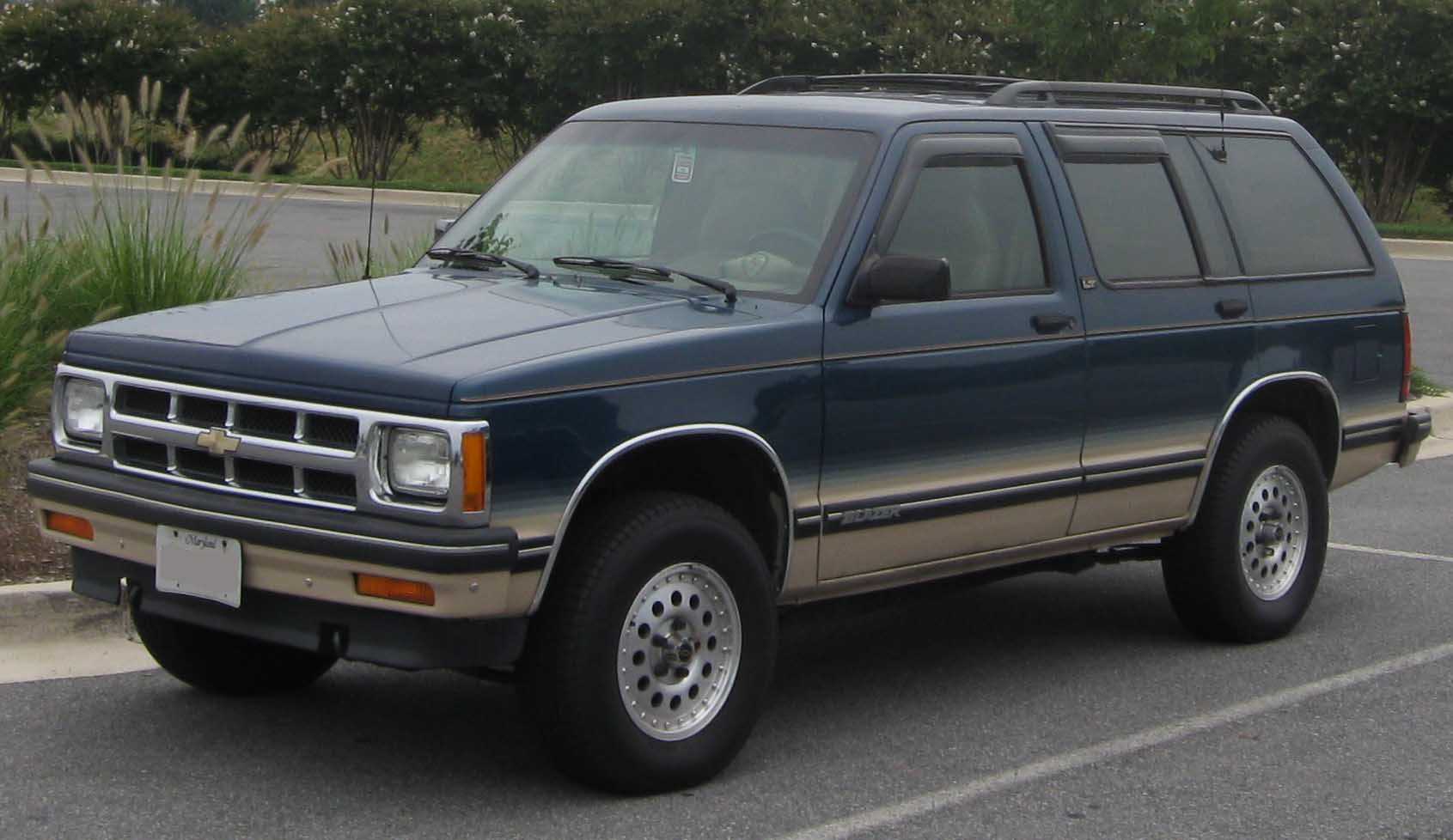 Chevrolet blazer pictures information and specs auto jpg 1691x978 1995 s10  blazer