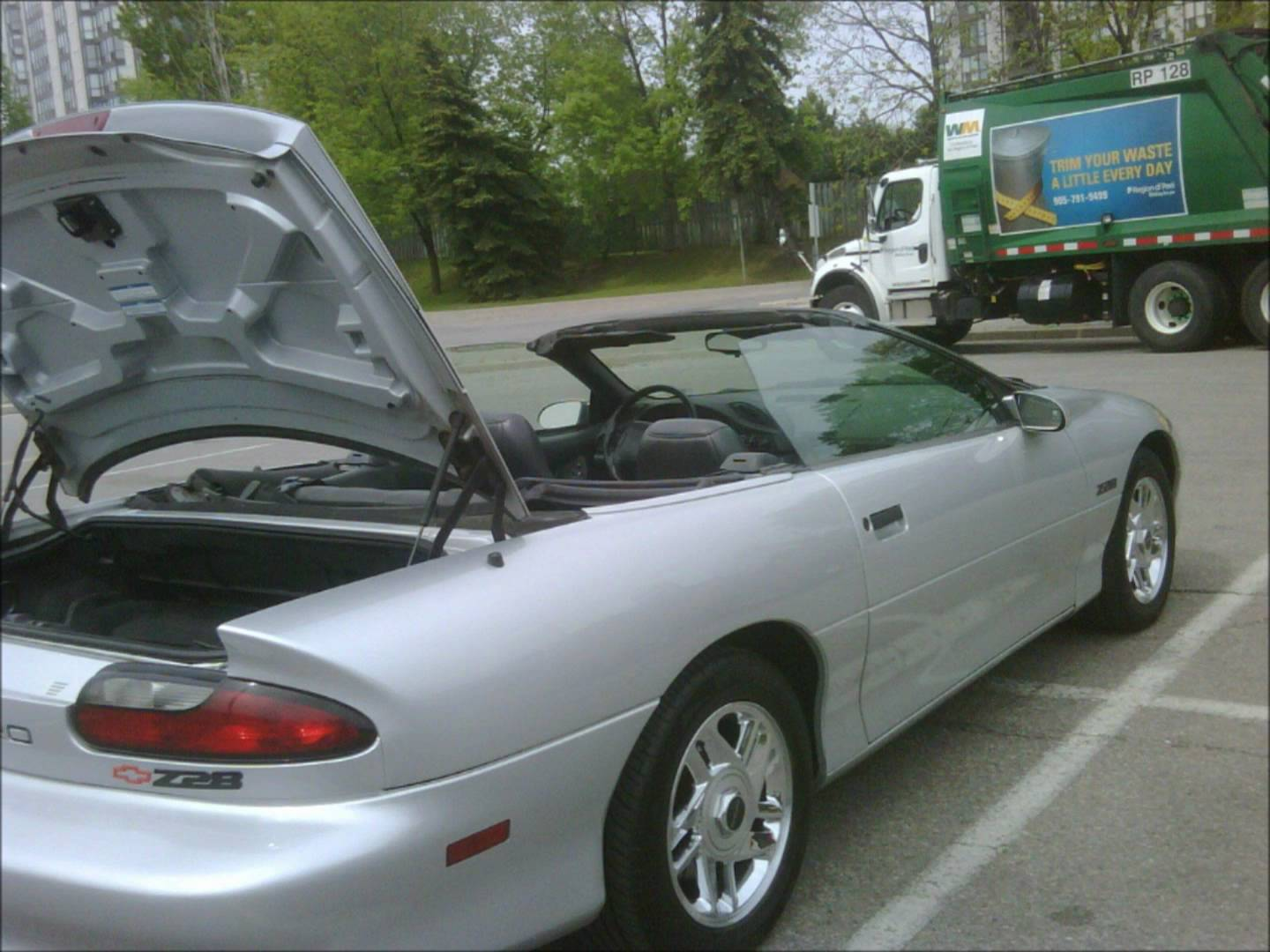 1996 Chevrolet Camaro Convertible Iv Pictures Information