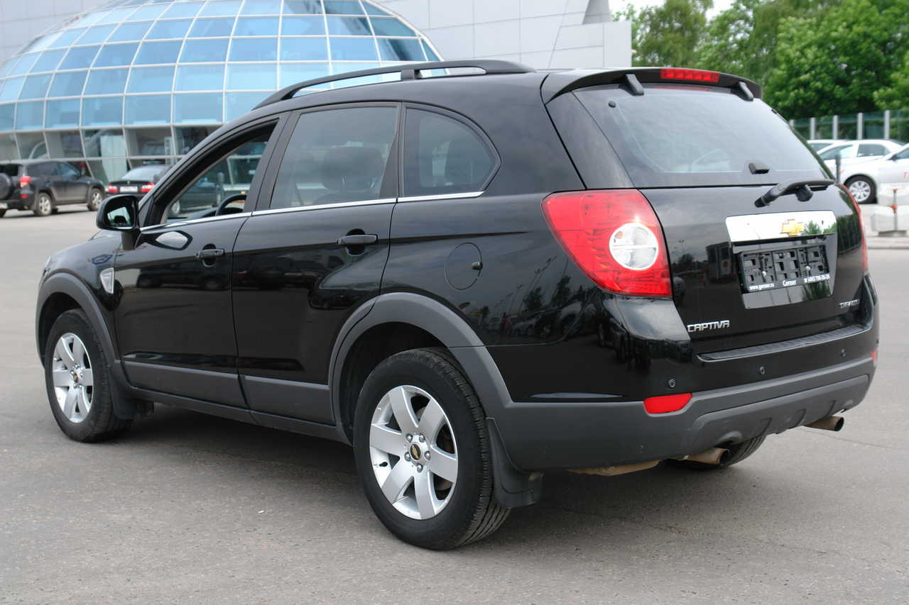 chevrolet captiva 2008 images #3