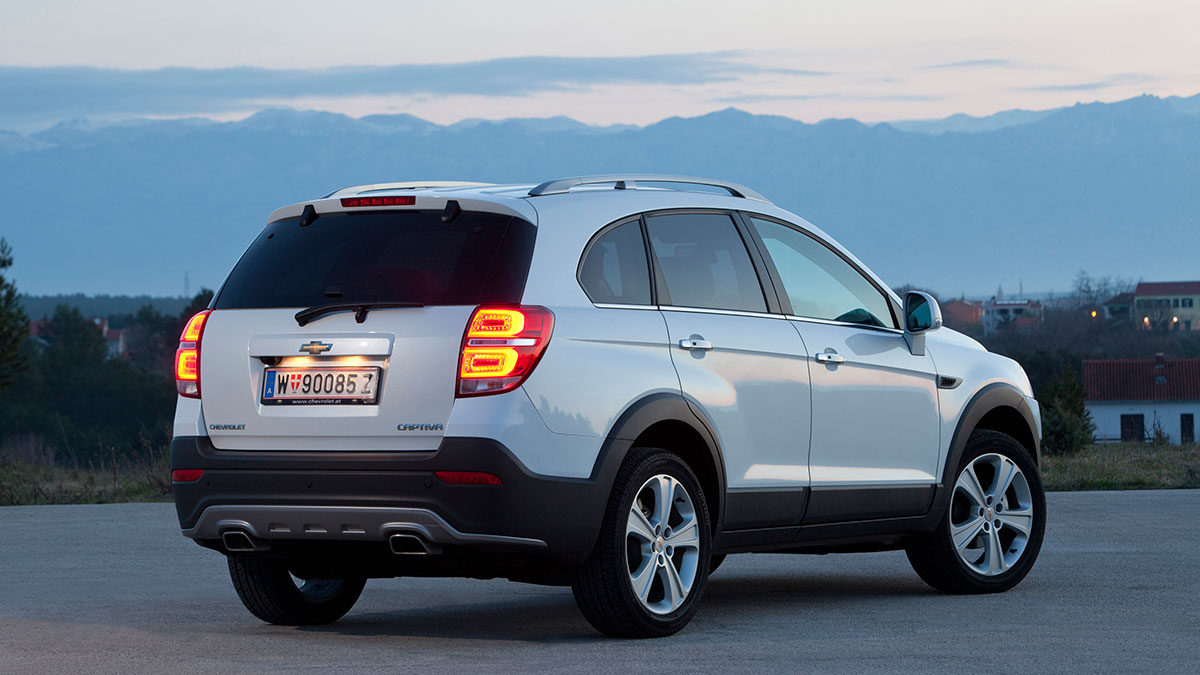 2014 Chevrolet Captiva Pictures Information And Specs