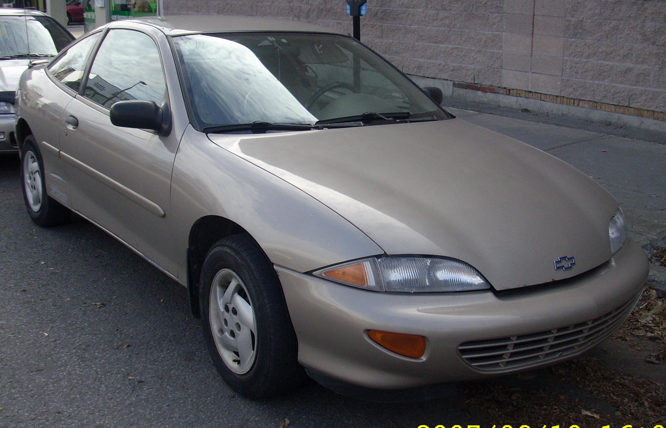 chevrolet cavalier coupe (j) 1995 images #7