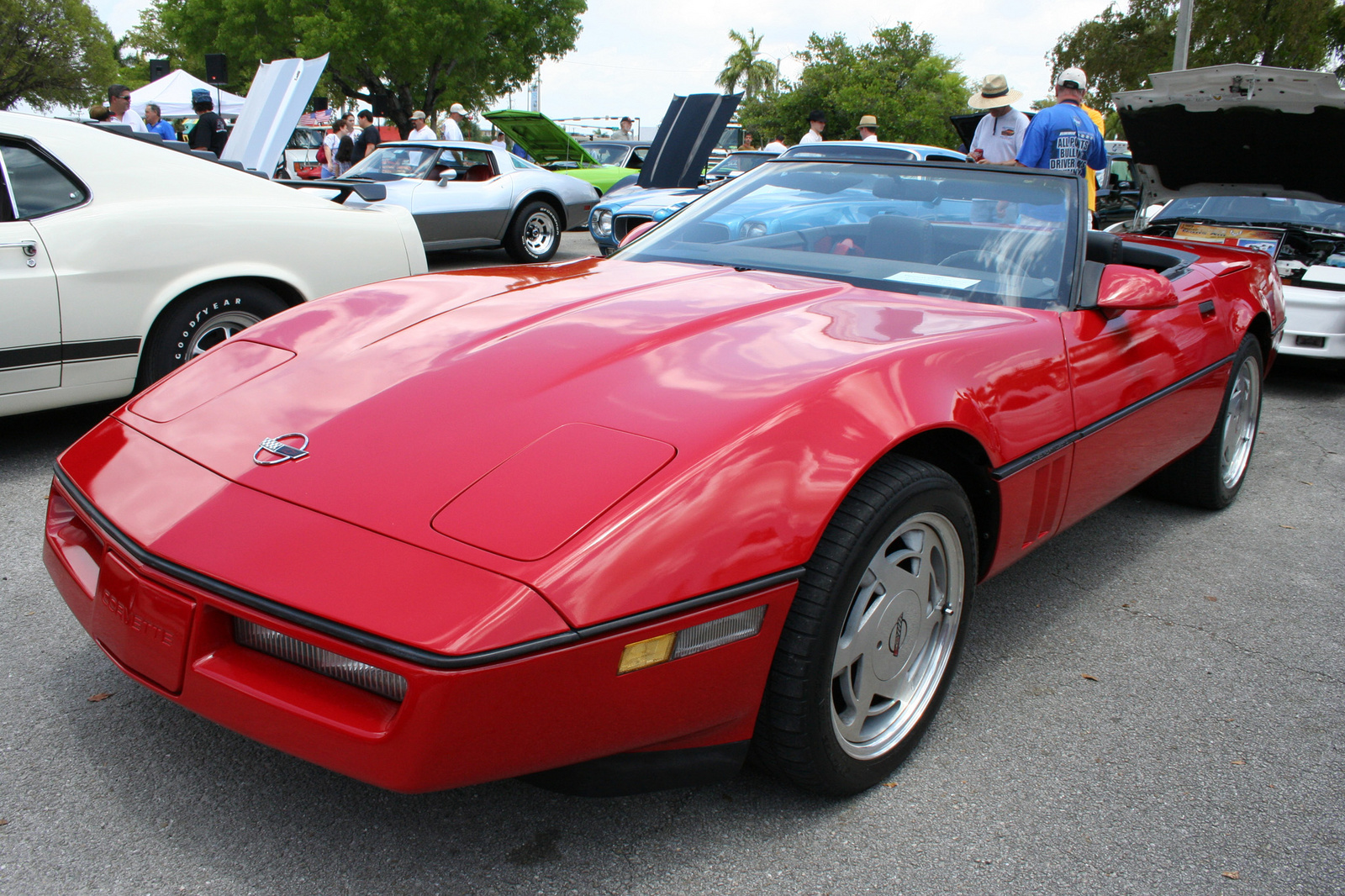 chevrolet corvette c4 convertible 1990 images