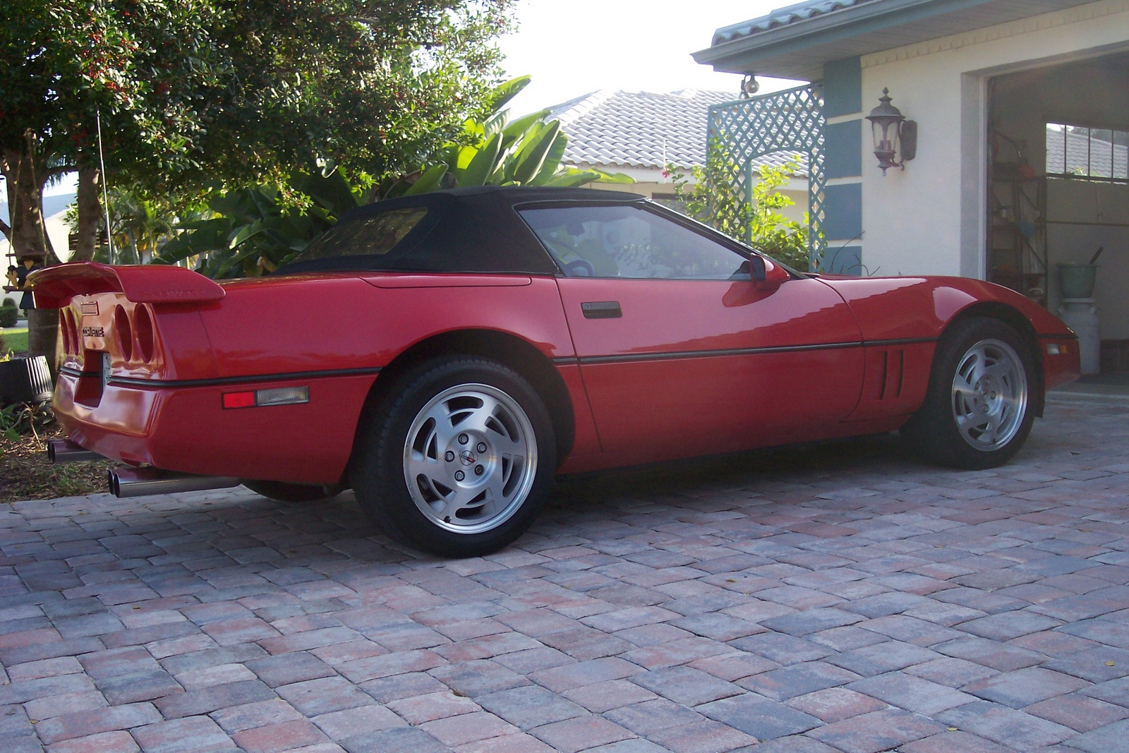 chevrolet corvette c4 convertible 1990 pictures