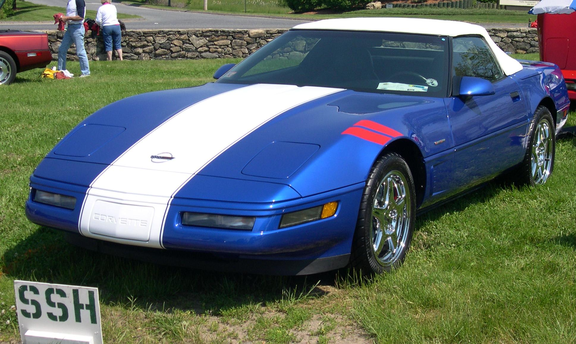 chevrolet corvette c4 coupe 1990 pictures
