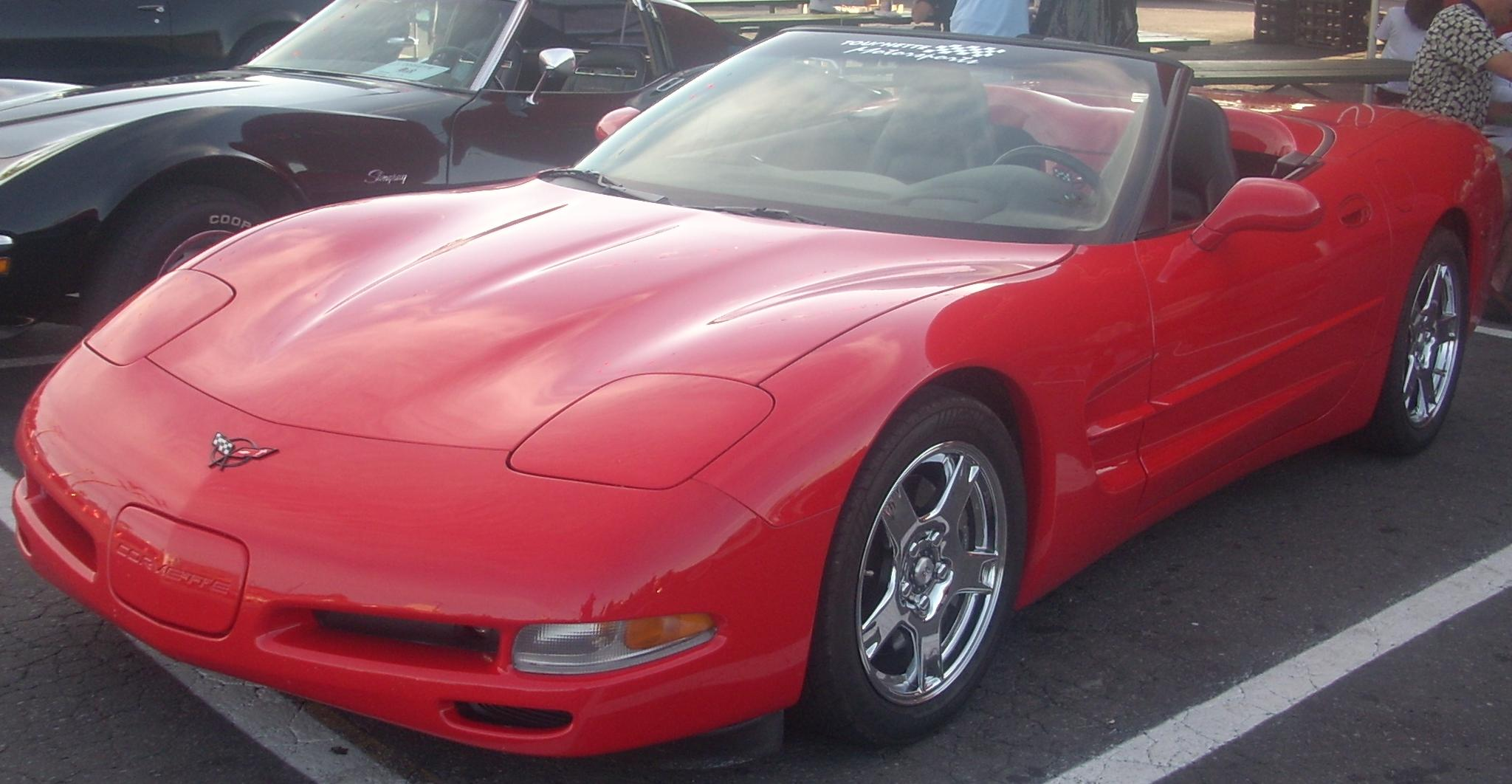 chevrolet corvette c5 coupe 2003 images