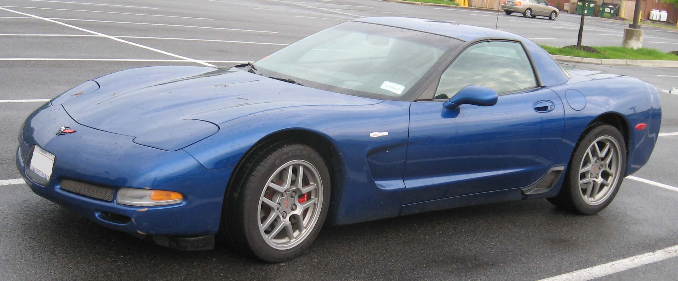 chevrolet corvette c5 coupe 2003 pictures