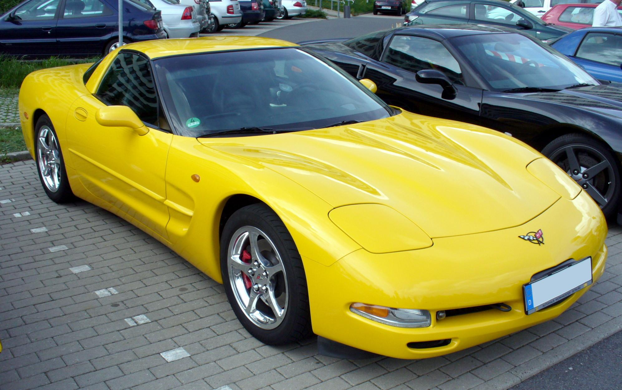 chevrolet corvette c5 coupe 2003 wallpaper