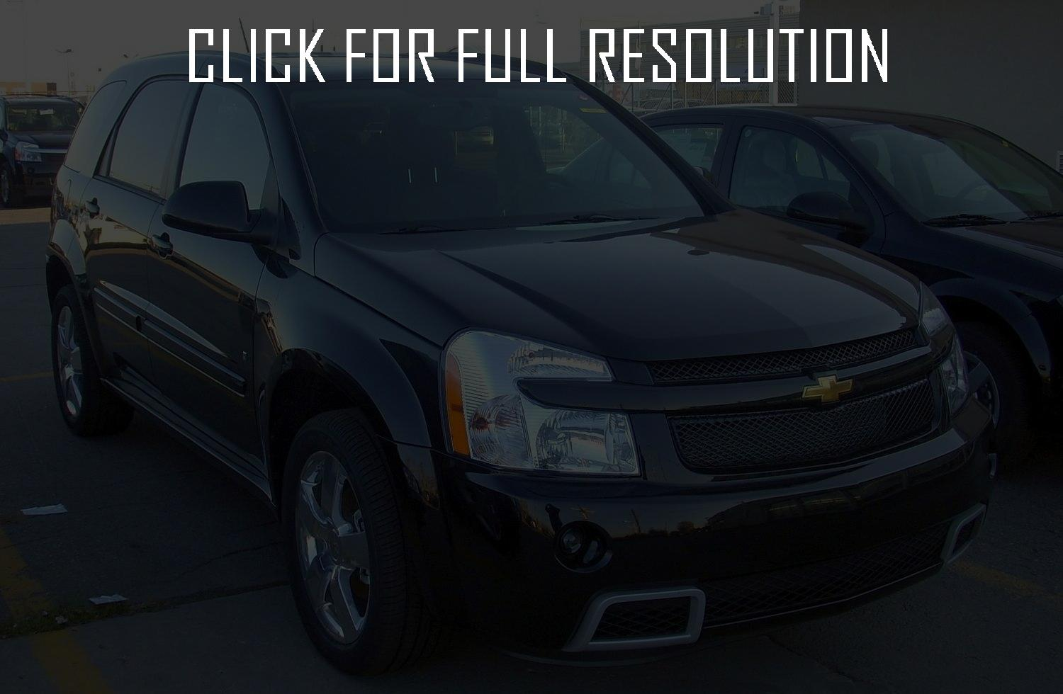 Equinox 2007 chevrolet equinox specs : 2007 Chevrolet Equinox – pictures, information and specs - Auto ...