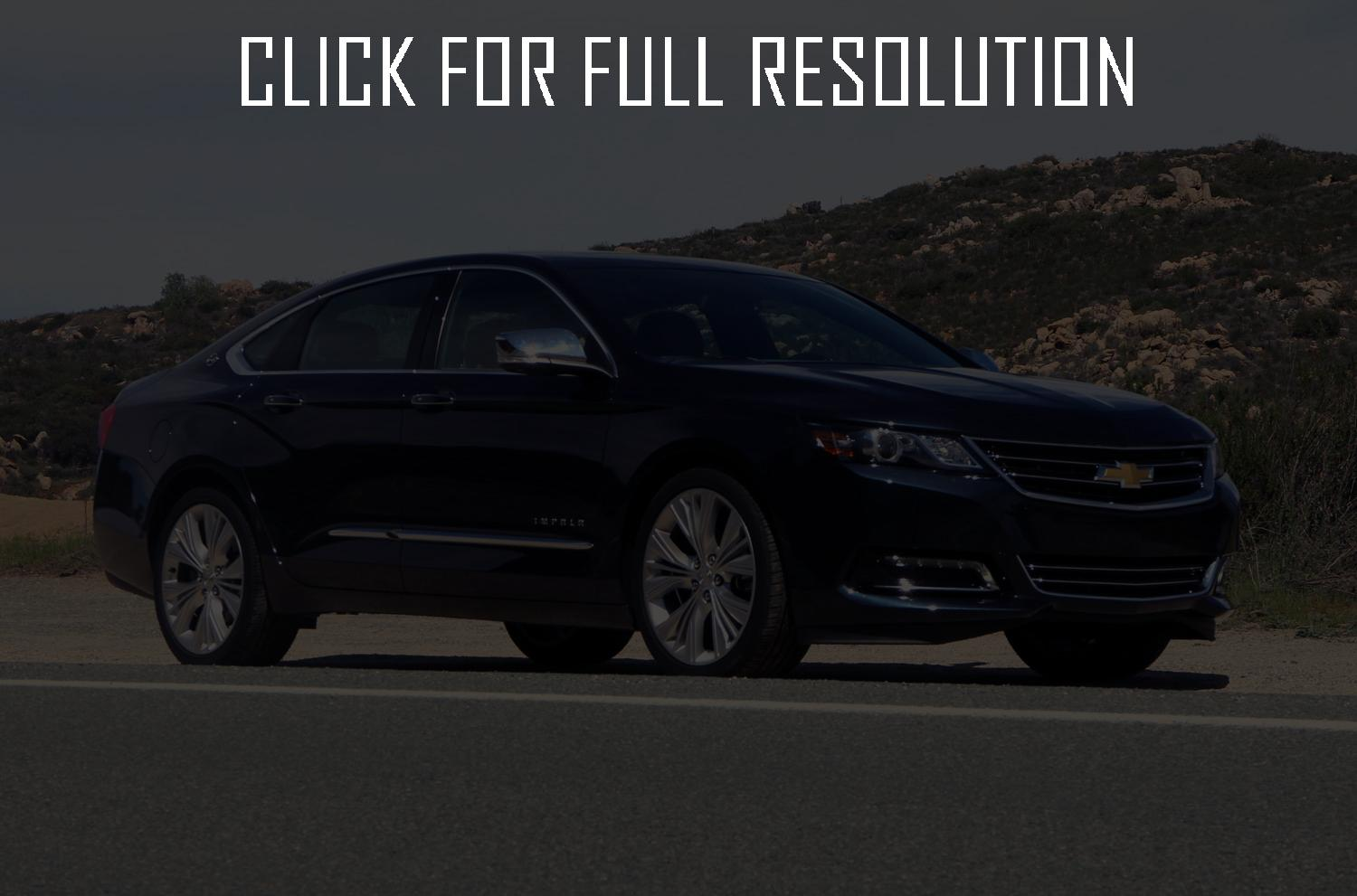 chevrolet impala 2013 wallpaper