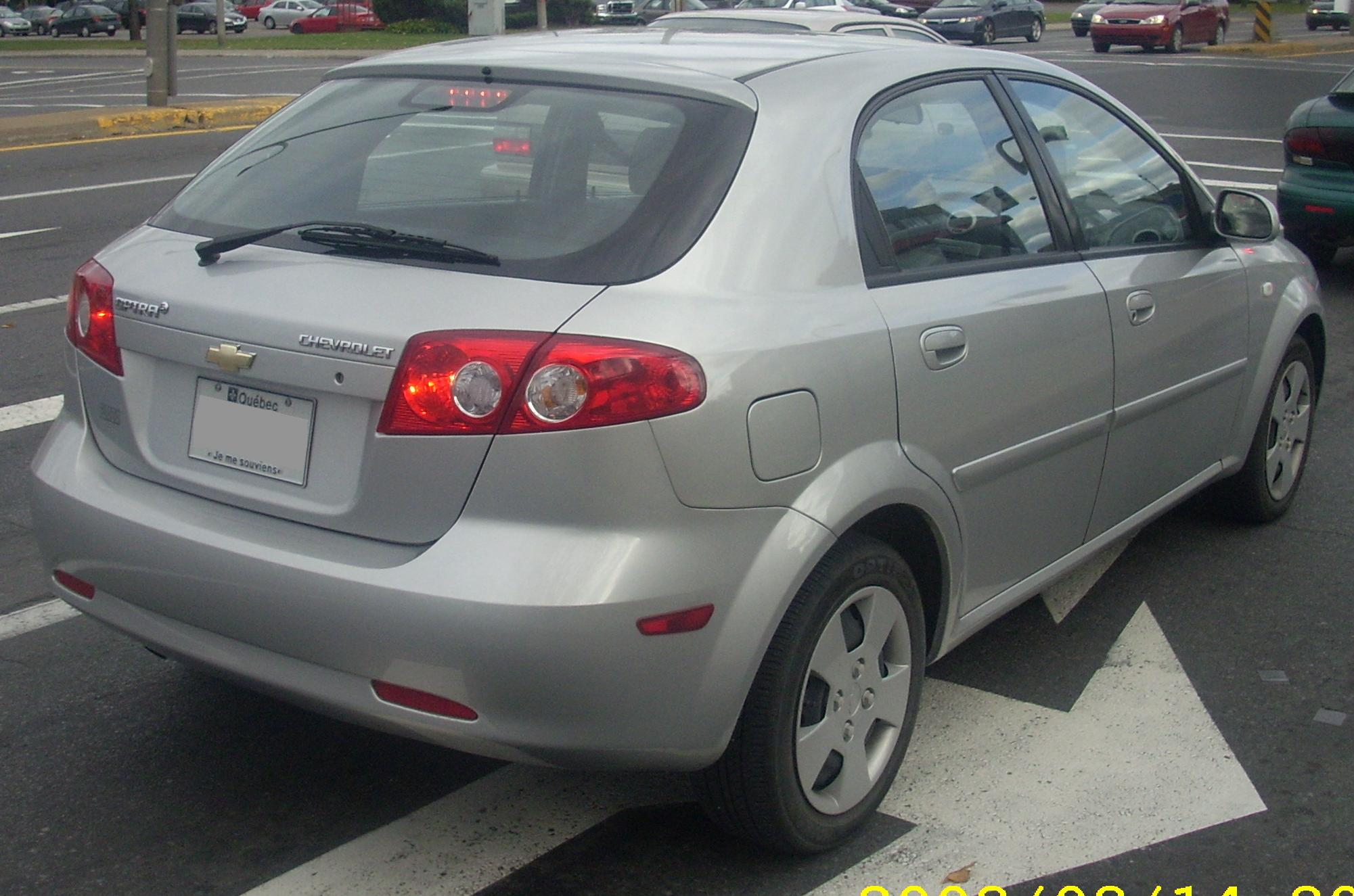 2007 Chevrolet Lacetti Wagon Pictures Information And Specs Auto Database Com