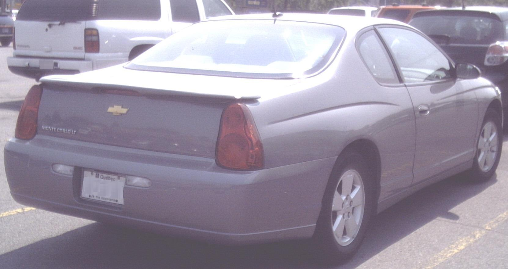 chevrolet monte carlo (w) 2006 pictures