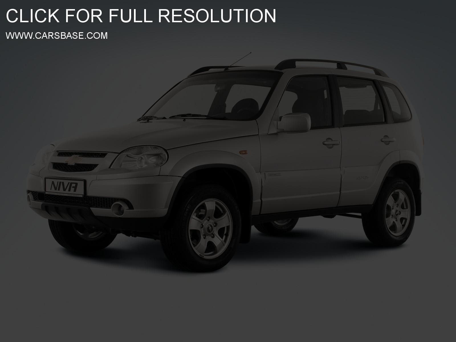 chevrolet niva pictures #9