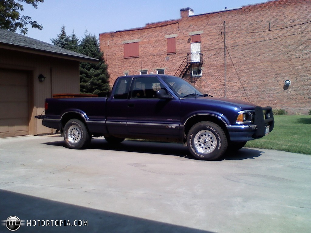 All Chevy 97 chevy s10 specs : 1994 Chevrolet S-10 pickup – pictures, information and specs ...