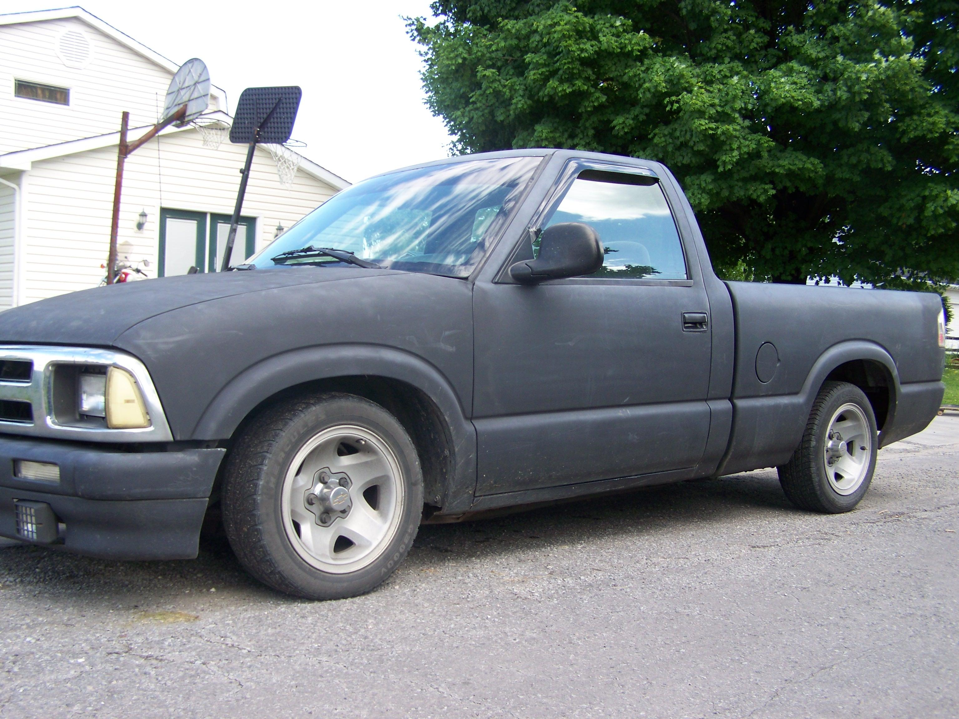 1995 Chevrolet S 10 Pickup Pictures Information And Specs