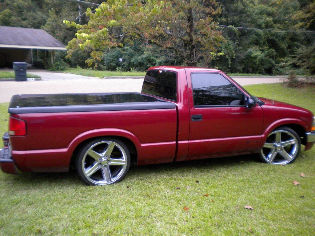 1998 chevy s10 specifications