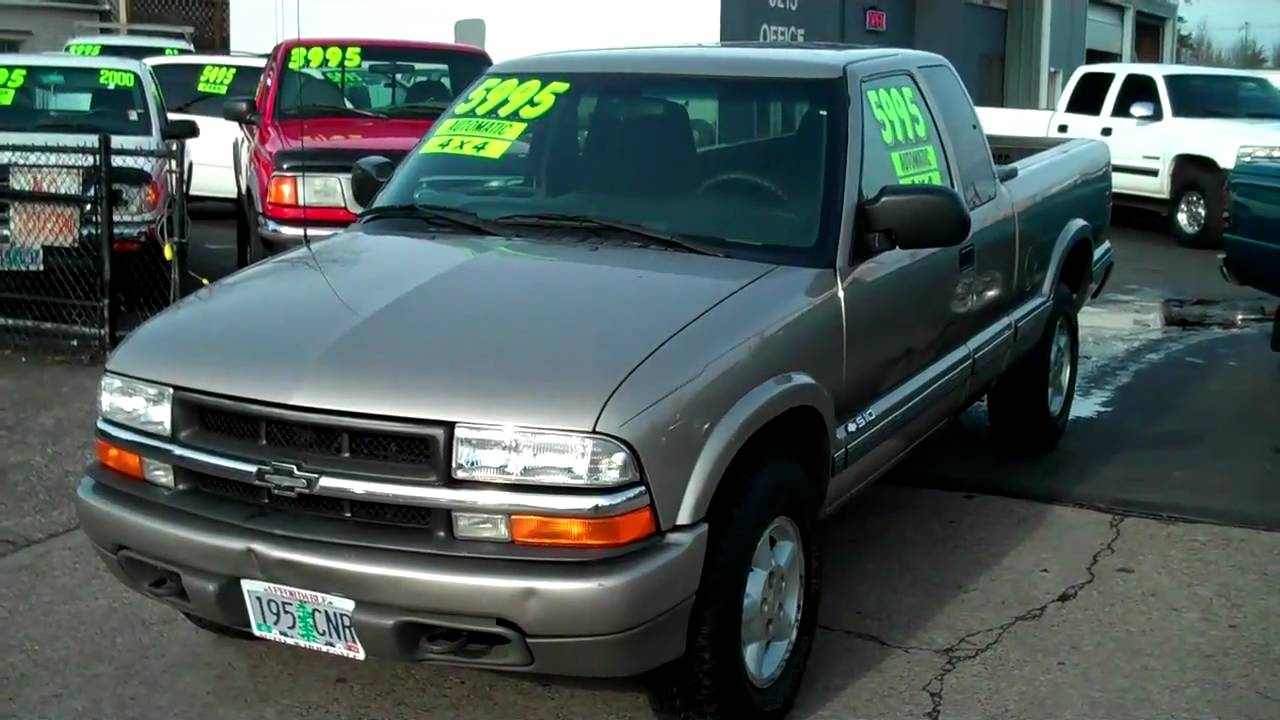 chevrolet s-10 pickup 2001 images