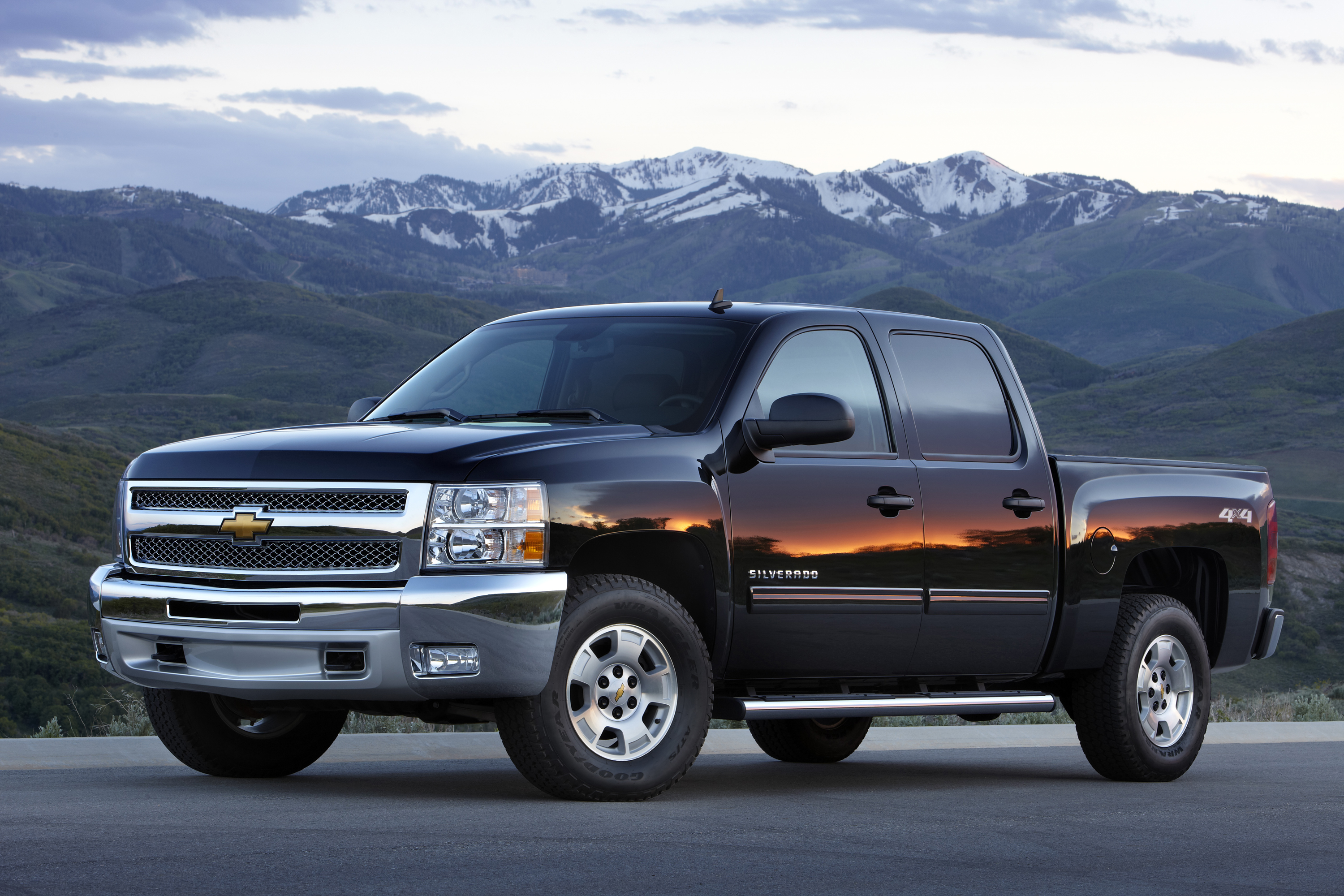 chevrolet silverado wallpaper #1