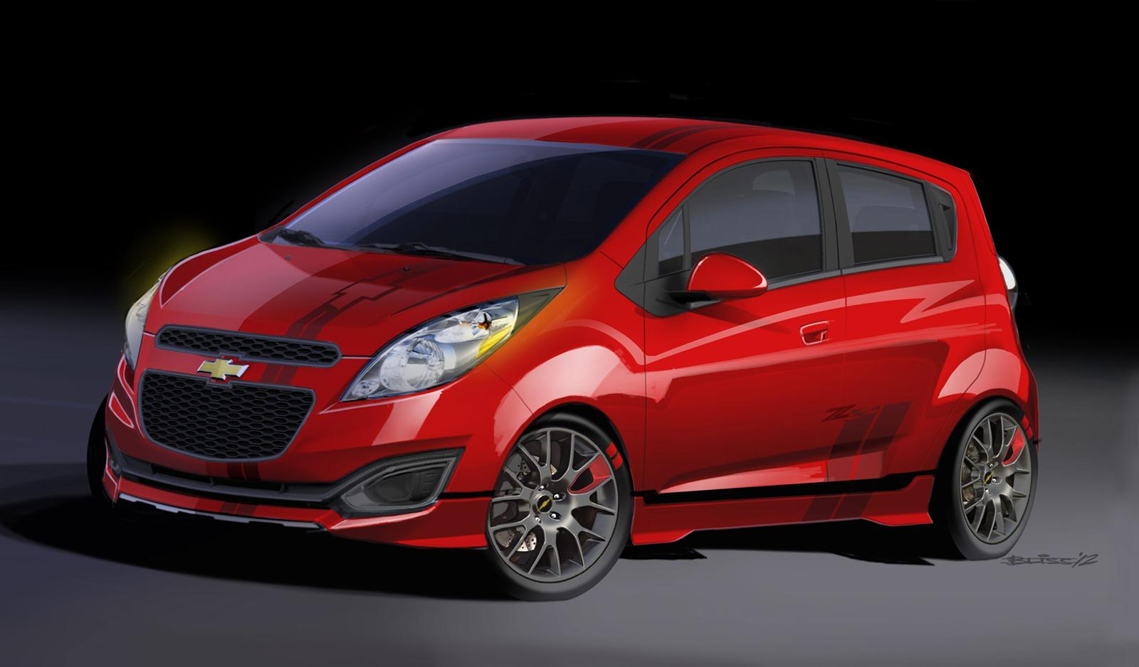 2013 Chevrolet Spark Pictures Information And Specs