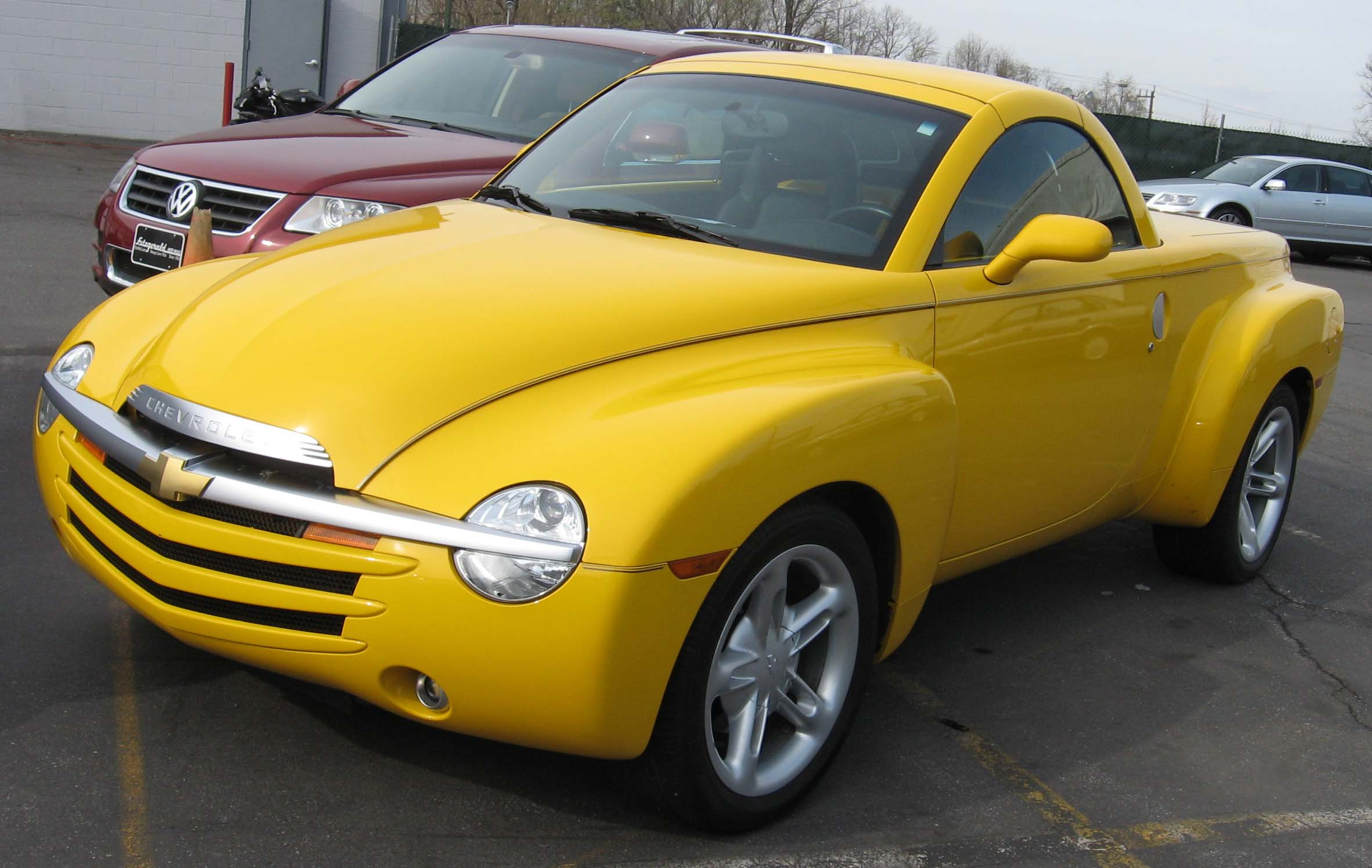 chevrolet ssr wallpaper #5
