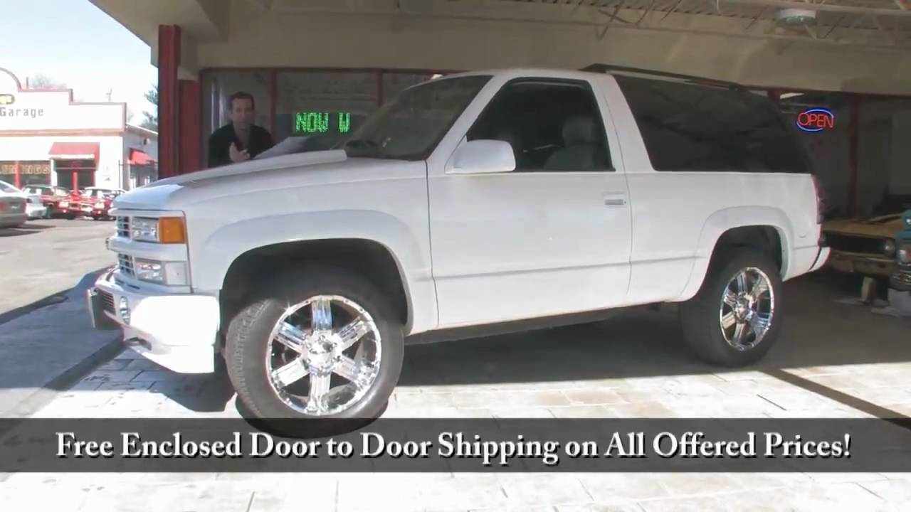 Tahoe 95 chevy tahoe specs : 95 Tahoe Specs - New Cars, Used Cars, Car Reviews and Pricing