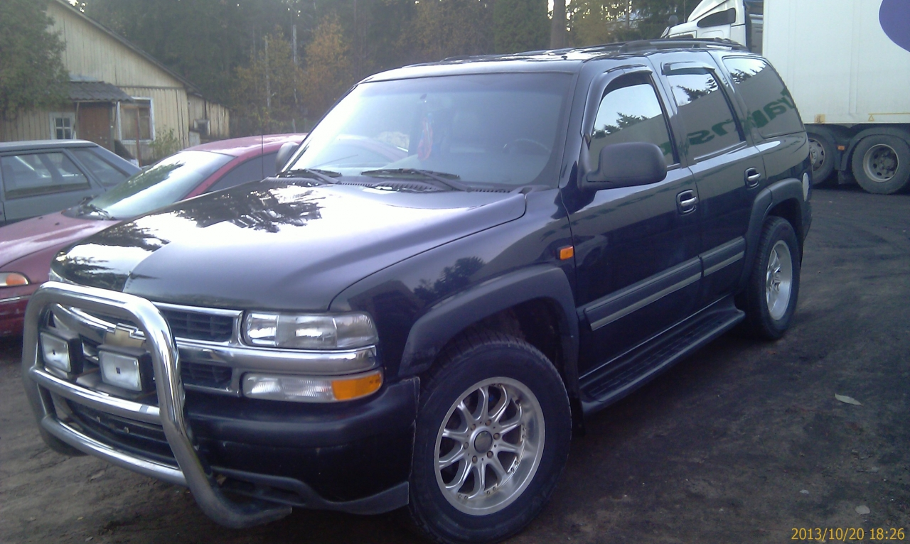 chevrolet tahoe (gmt840) 2002 images #10