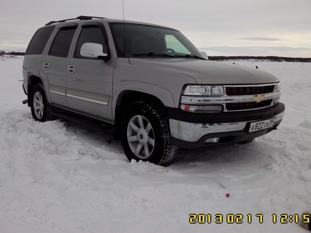 chevrolet tahoe (gmt840) 2002 pictures #5
