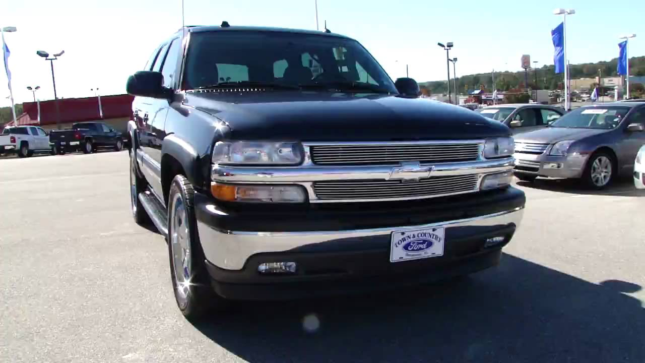 2005 chevrolet tahoe (gmt840) – pictures, information and specs