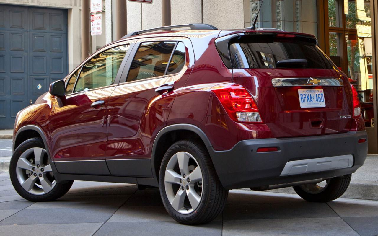 chevrolet tracker images #7