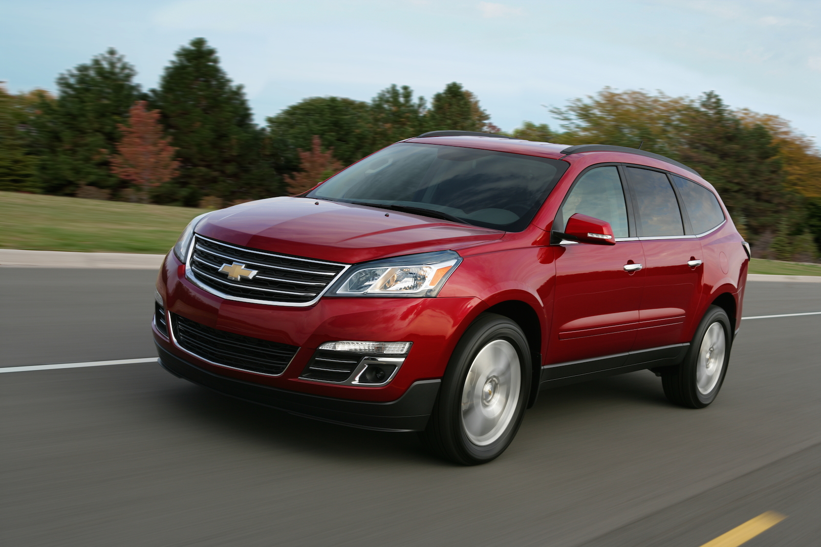 chevrolet traverse seriess