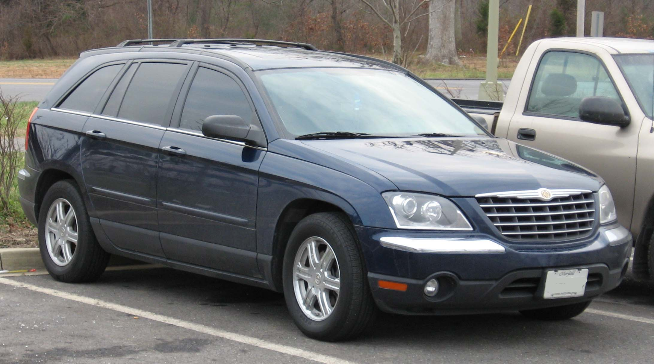 chrysler pacifica seriess #4