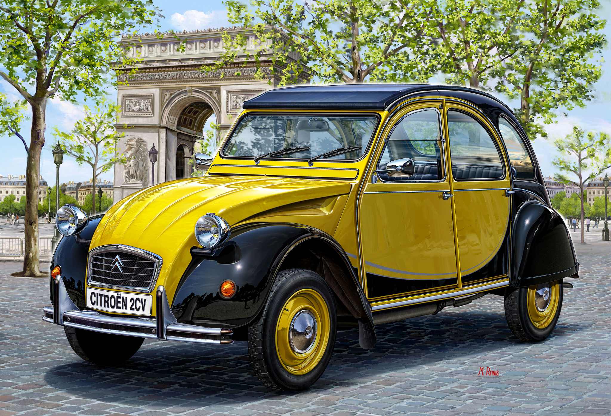 citroen 2 cv seriess #6