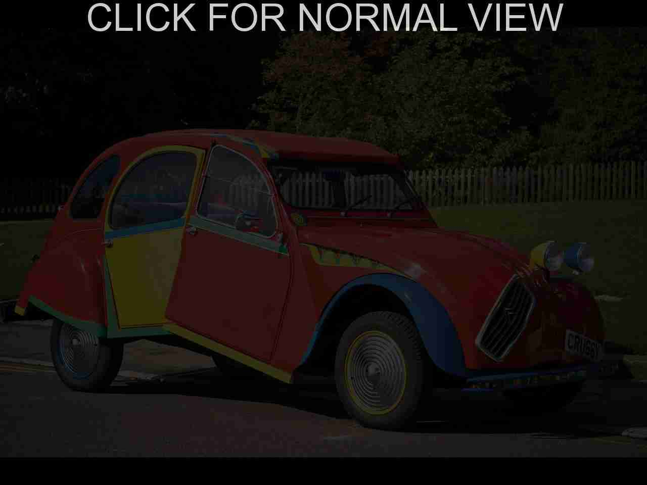 citroen 2 cv seriess #14
