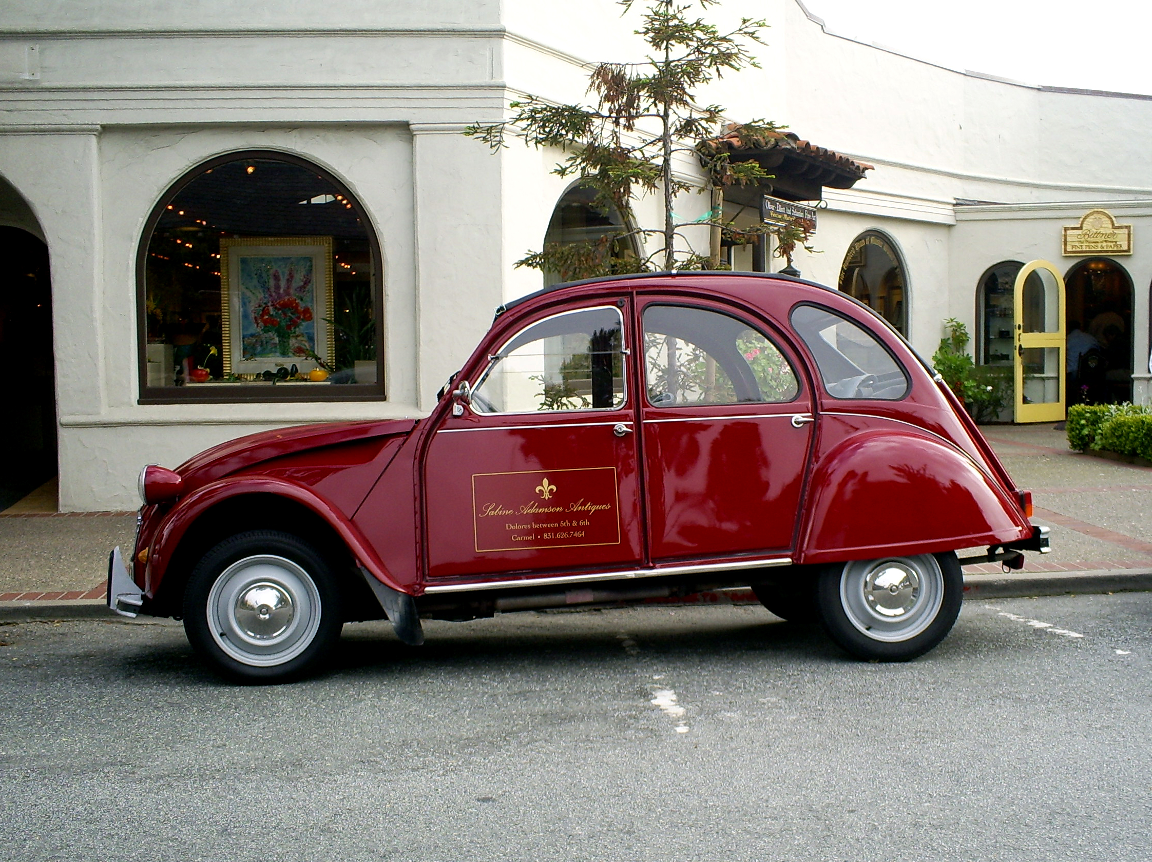 citroen 2 cv wallpaper #8