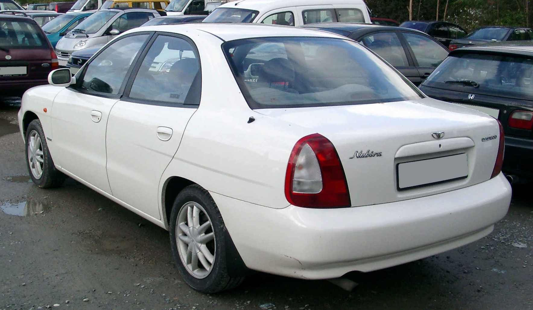 2002 Daewoo Evanda   pictures, information and specs - Auto