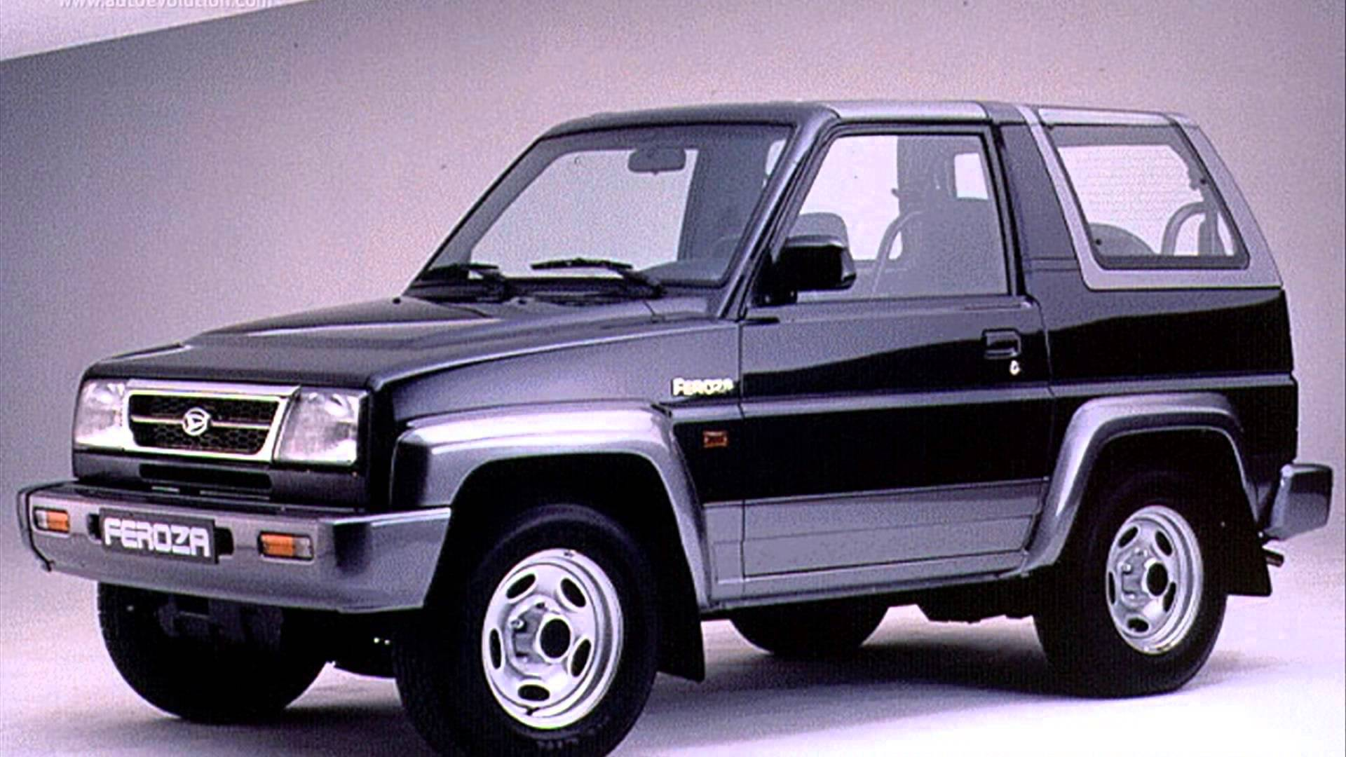 Daihatsu Feroza – pictures, information and specs - Auto ...