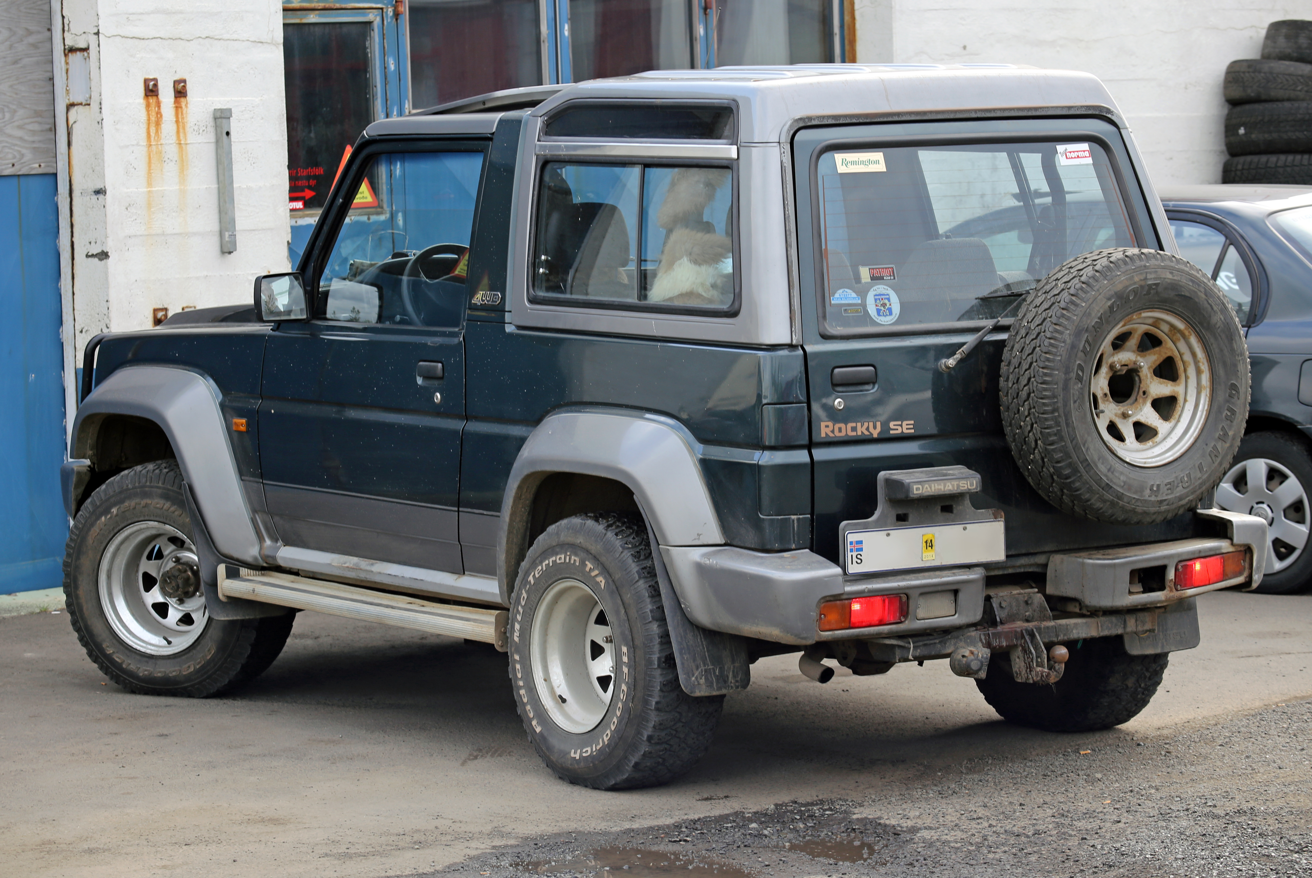 1995 Daihatsu Rocky soft top f7 f8 – pictures information and