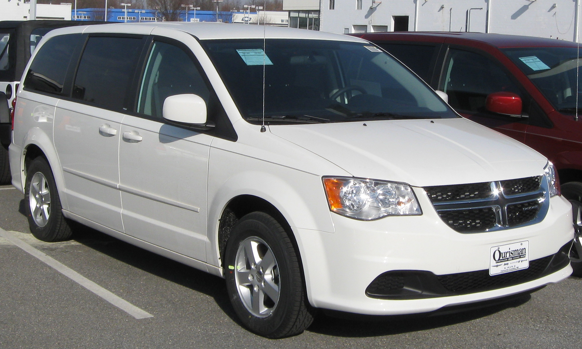 dodge caravan seriess