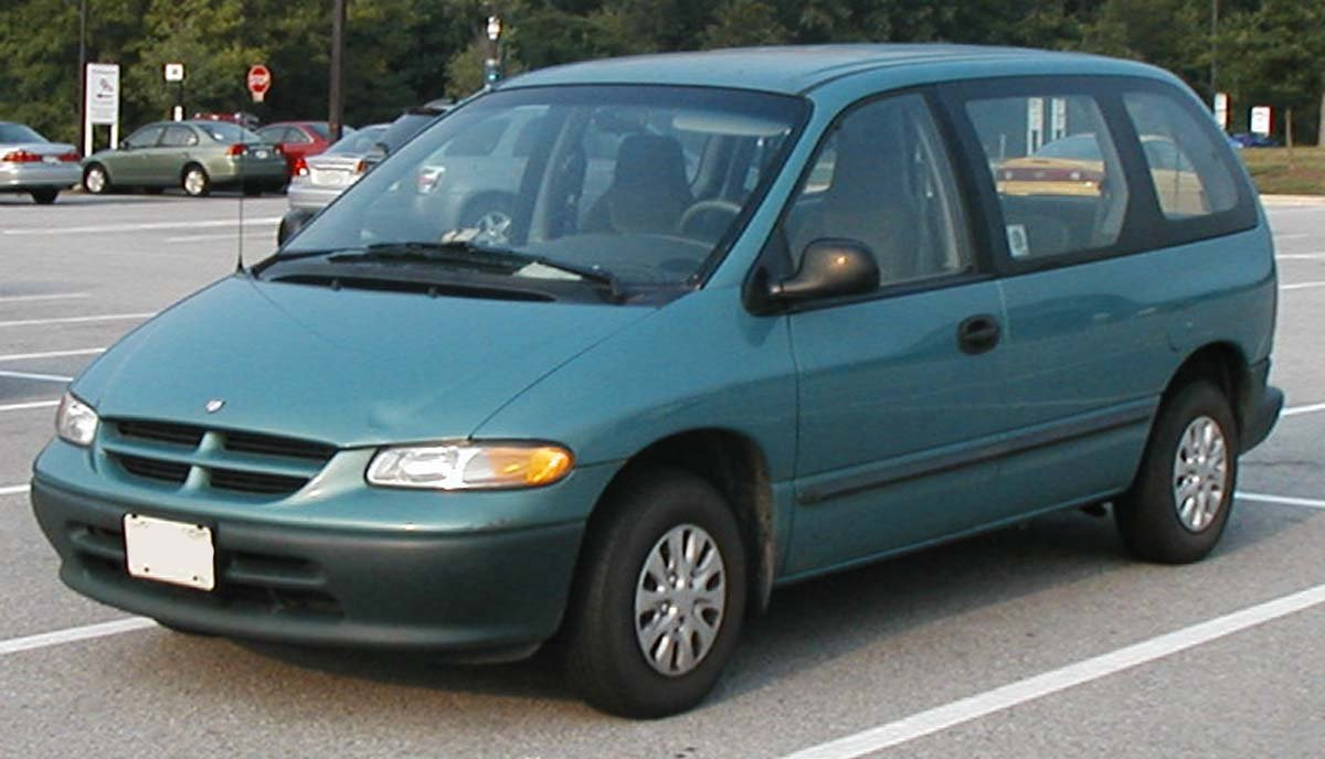 dodge caravan wallpaper