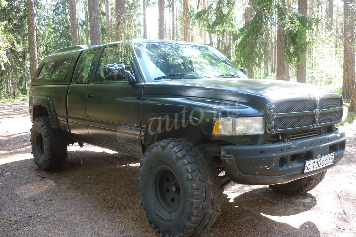 dodge ram (br/be) 1996 pictures #11