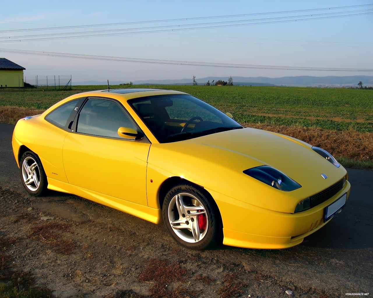 fiat coupe images