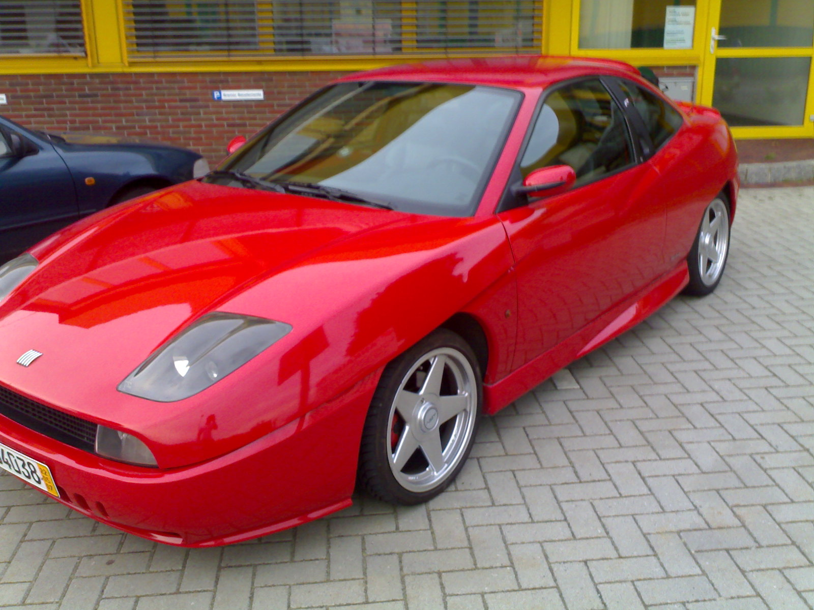 fiat coupe seriess