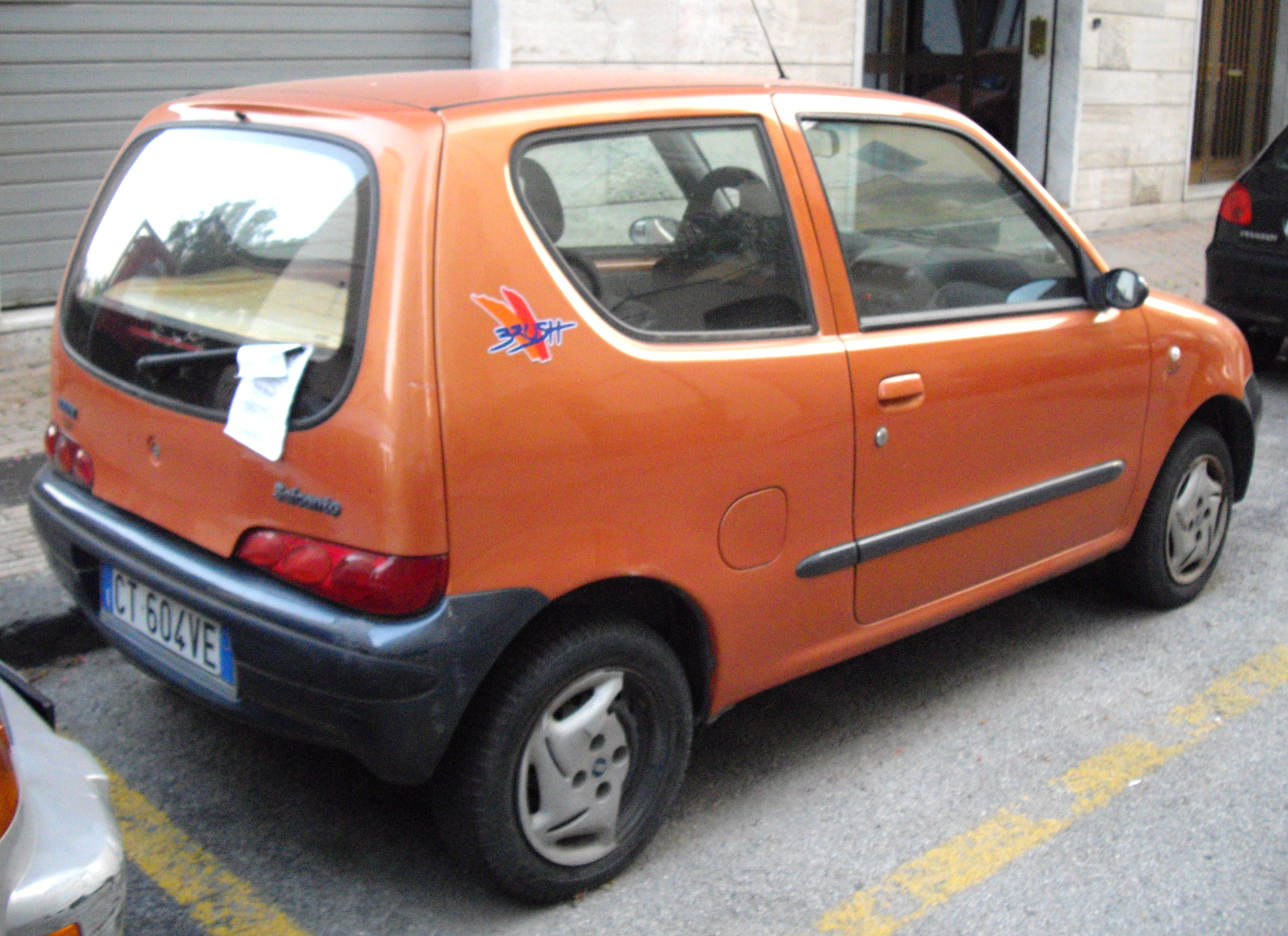 fiat seicento images #12