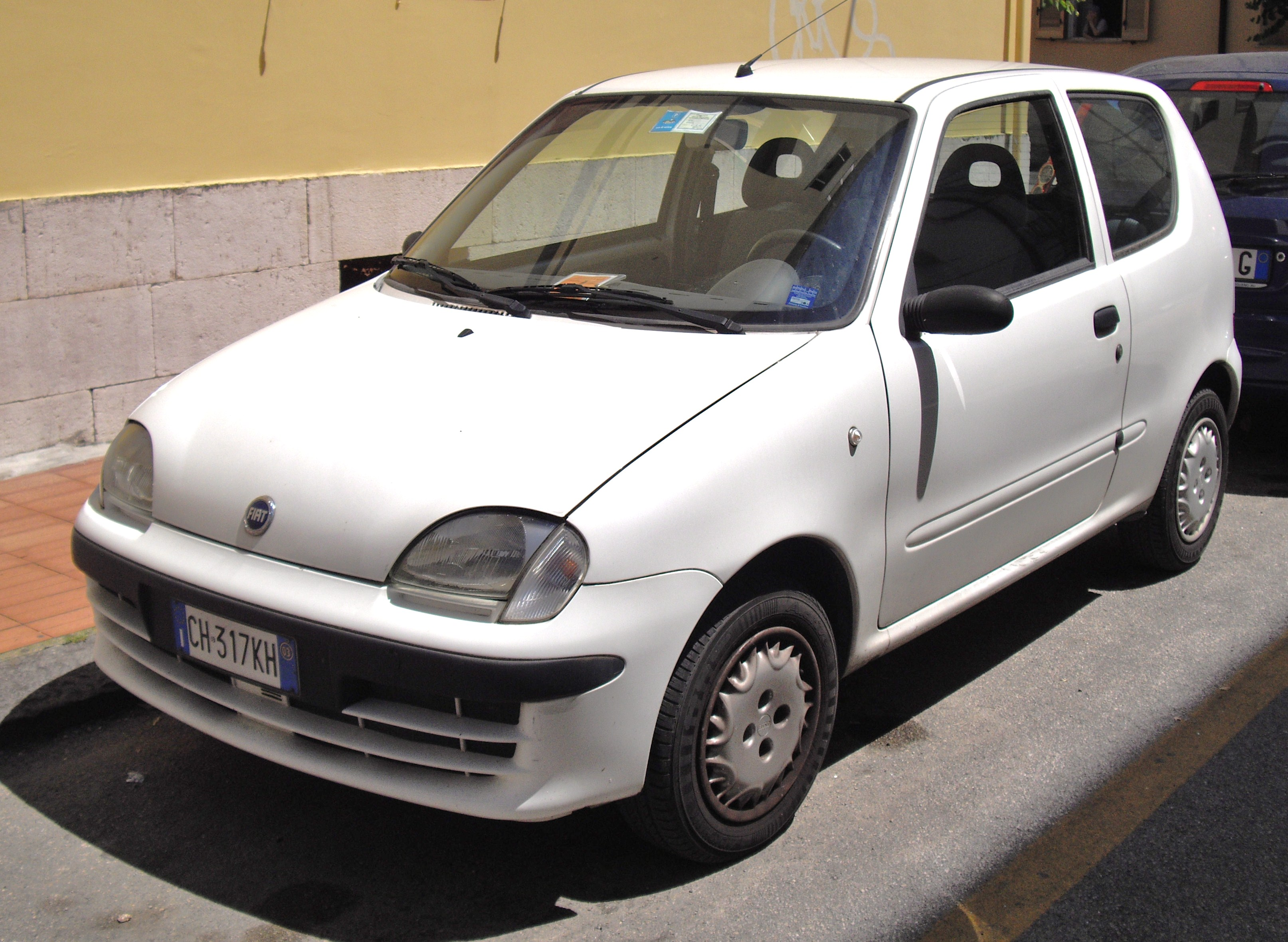 fiat seicento pictures #7