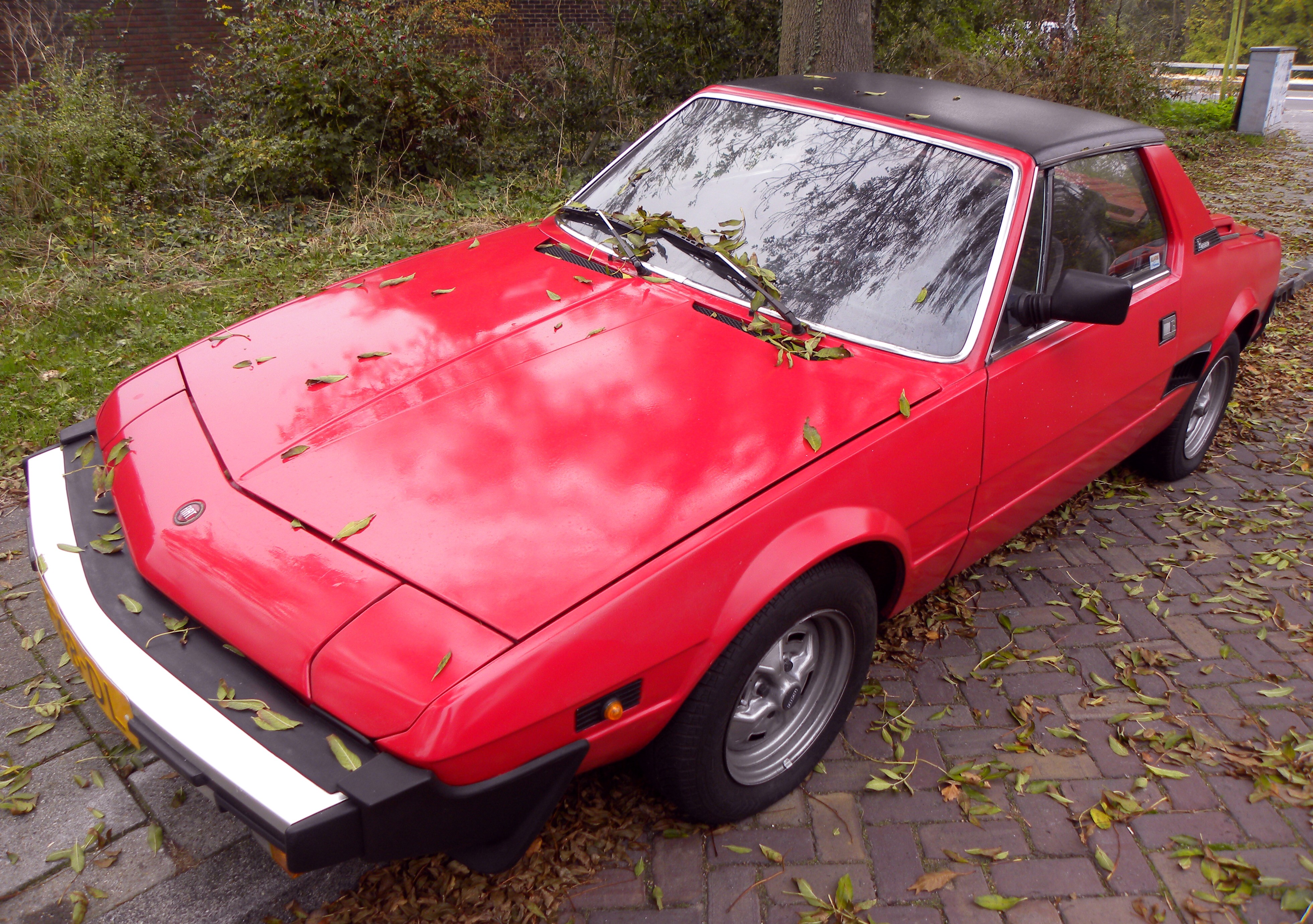 fiat x 1/9 pictures #5